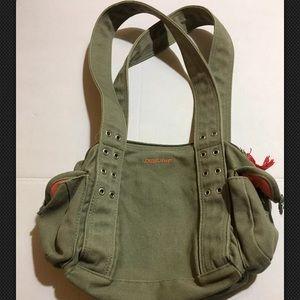 Dakine Hula Army Green Canvas Bag